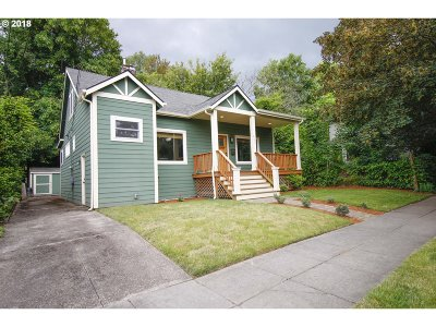 Single Family Home For Sale: 2616 SE 35th Pl