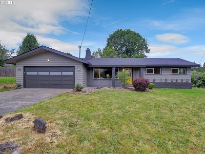 Single Family Home For Sale: 7845 SE 162nd Ave