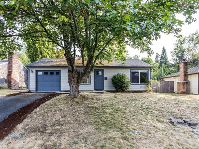 Single Family Home For Sale: 12875 SW Douglas St