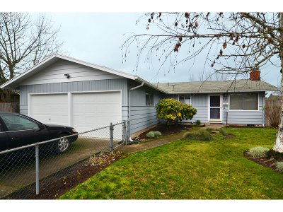 Eugene Single Family Home For Sale: 1625 Hayes St