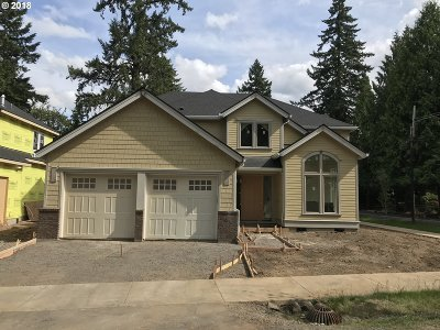 West Linn Single Family Home For Sale: 18822 Old River Dr