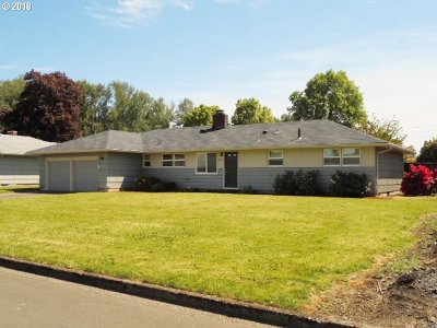 Springfield Single Family Home For Sale: 2837 Manor Dr