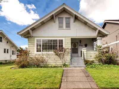 Portland Single Family Home For Sale: 2141 SE 53rd Ave