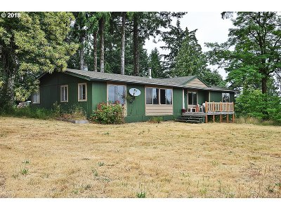 Single Family Home For Sale: 21005 SW McCormick Hill Rd