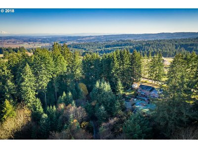 Hillsboro Single Family Home For Sale: 34835 SW Bald Peak Rd