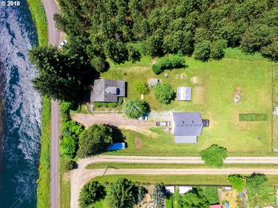 Springfield Single Family Home For Sale: 39541 McKenzie Hwy