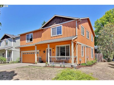Portland Single Family Home For Sale: 7228 SE 50th Ave