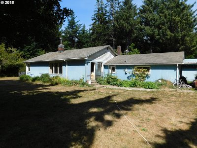Port Orford Single Family Home For Sale: 43443 Nicholson Dr
