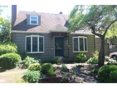 Eugene Single Family Home For Sale: 1470 E 20th Ave