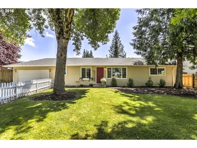 Gresham, Troutdale, Fairview Single Family Home For Sale: 2410 SE Barnes Rd
