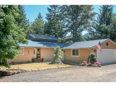 Roseburg Single Family Home For Sale: 9001 Buckhorn Rd