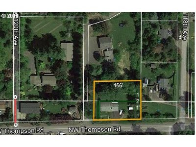 Portland Residential Lots & Land For Sale: 11875 NW Thompson Rd
