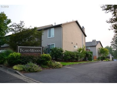 Tigard Condo/Townhouse For Sale: 10900 SW 76th Pl #55
