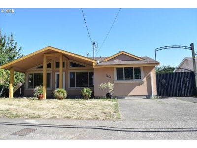 Single Family Home For Sale: 7625 SE Flavel St