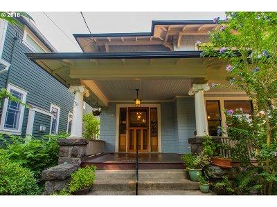 Single Family Home For Sale: 2003 NE Wasco St