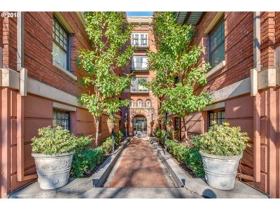 Condo/Townhouse For Sale: 1829 NW Lovejoy St #504