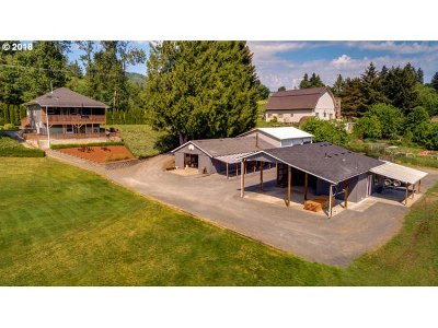 Woodland Single Family Home For Sale: 3049 Lewis River Rd