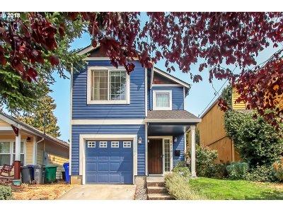 Multnomah County Single Family Home For Sale: 6616 N Montana Ave