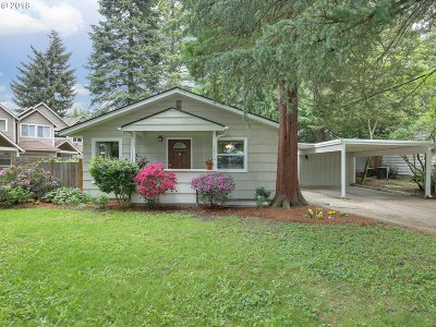 Single Family Home For Sale: 3816 SE 91st Ave