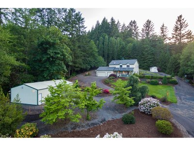Single Family Home For Sale: 14315 NW Cornelius Pass Rd