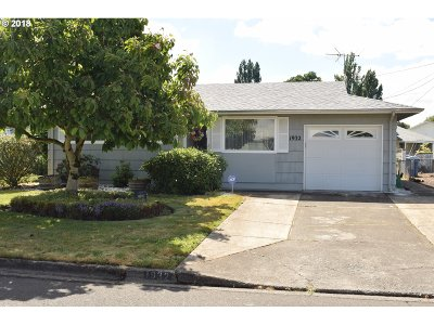 Woodburn Single Family Home For Sale: 1932 Country Club Rd
