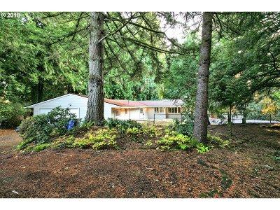 Multnomah County Single Family Home For Sale: 12110 SE Foster Pl