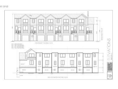 Portland Condo/Townhouse For Sale: 7614 SE Washington St #1-5