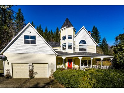 Washougal Single Family Home For Sale: 37414 NE Washougal River Rd
