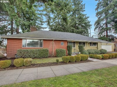 Clackamas County, Multnomah County, Washington County Single Family Home For Sale: 1023 N Ainsworth St