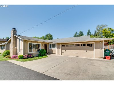 Portland Single Family Home For Sale: 7530 SW Florence Ln