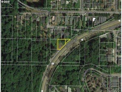 Portland Residential Lots & Land For Sale: SW Barbur Blvd