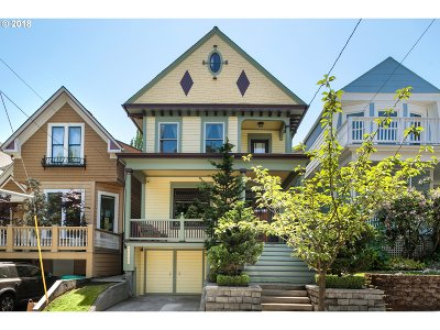 Single Family Home For Sale: 2332 NW Hoyt St
