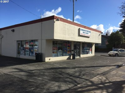 Multnomah County, Washington County, Clackamas County Commercial For Sale: 6221 N Lombard St