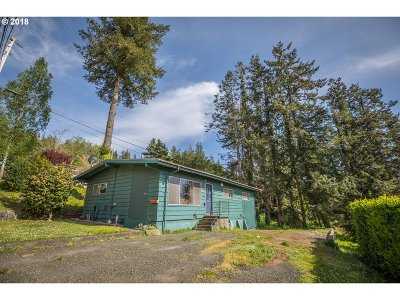 Coquille OR Single Family Home For Sale: $155,000