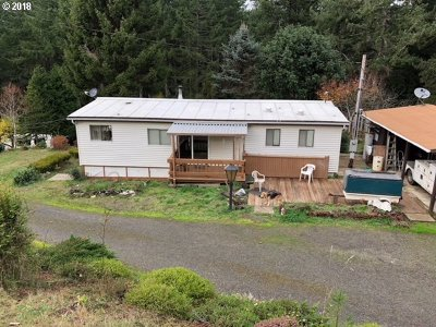 Coos Bay Single Family Home For Sale: 59405 Shady Spring Rd