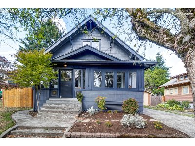 Portland Single Family Home For Sale: 6525 N Michigan Ave