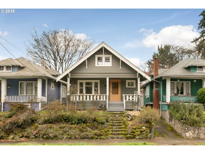 Portland Single Family Home For Sale: 3429 SE Grant Ct