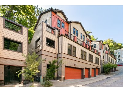 Portland Condo/Townhouse For Sale: 1822 SW 18th Ave #5