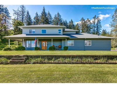 McMinnville Single Family Home For Sale: 14755 SW Hidden Hills Rd