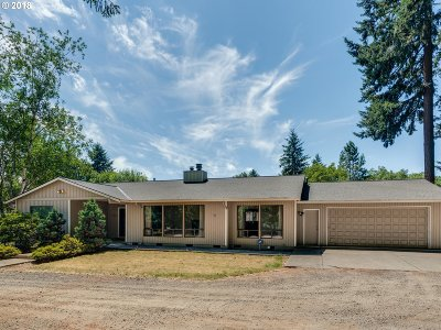 Canby Single Family Home Bumpable Buyer: 1287 NE Territorial Rd