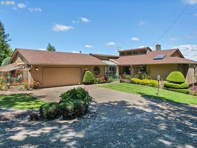 Single Family Home For Sale: 22935 SW Hillsboro Hwy