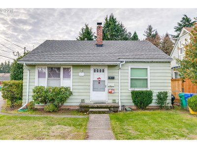 Single Family Home For Sale: 8640 NE Pacific St