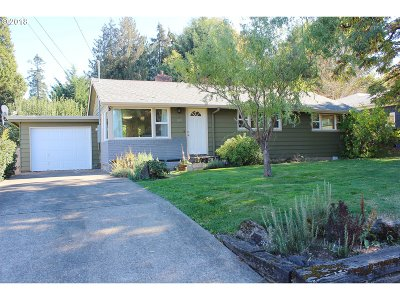 Eugene OR Single Family Home For Sale: $259,900
