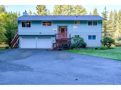 Coos Bay Single Family Home For Sale: 95080 Maple Leaf Ln