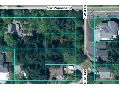 Portland Residential Lots & Land For Sale: 01 SW 43rd Ave