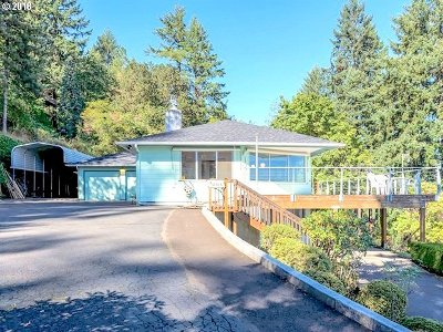 Portland Single Family Home For Sale: 12515 NW Mountain View Rd