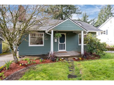 Portland Single Family Home For Sale: 7225 SW 32nd Ave