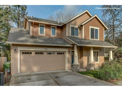 Newberg, Dundee, Mcminnville, Lafayette Single Family Home For Sale: 705 Dayton Ave