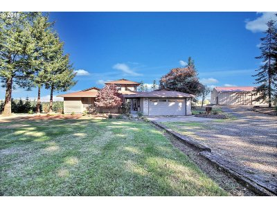 Single Family Home For Sale: 36178 SW Bald Peak Rd