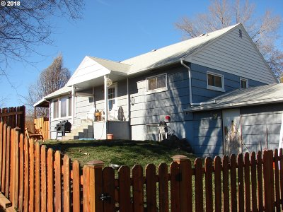 Pendleton Single Family Home For Sale: 802 SW 20th St